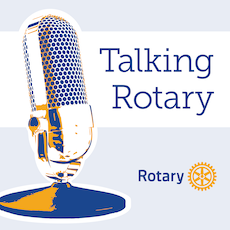 Talking Rotary Logo